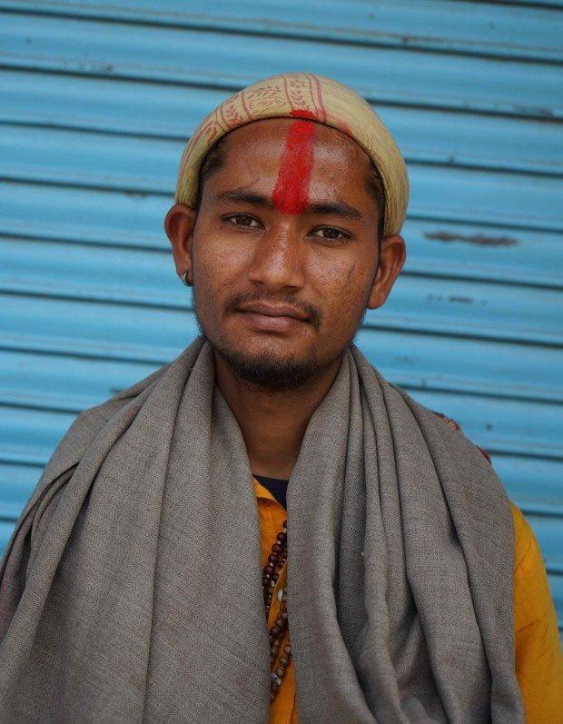 Rishikesh - Young Man