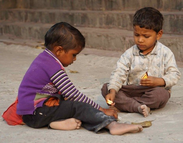 Rishikesh - Two Boys