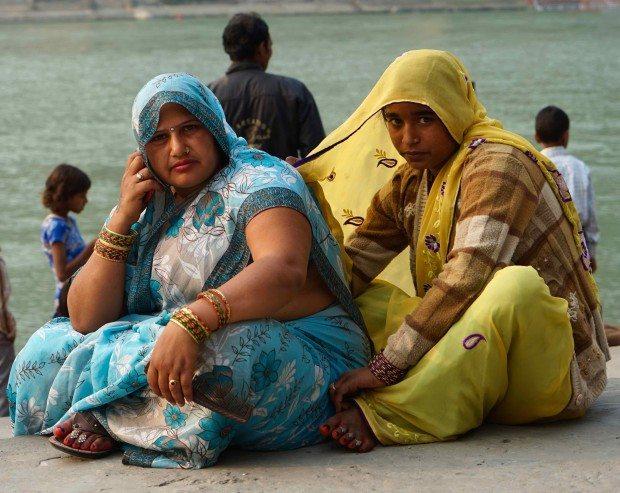 Rishikesh - Two Women