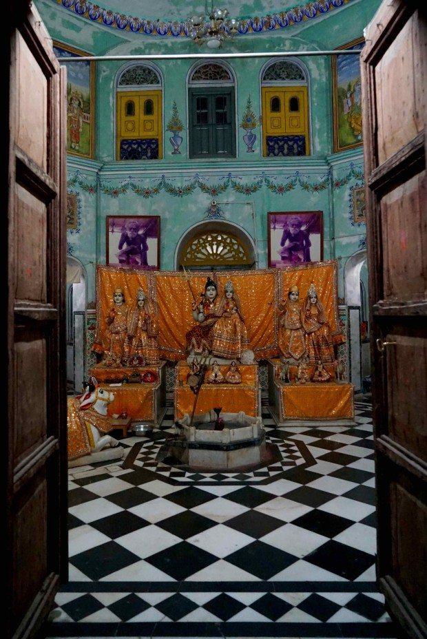 Rishikesh - Tikiri Temple - Inside