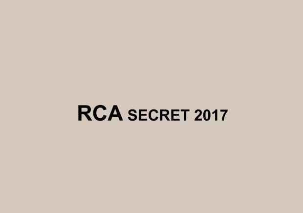 RCA Secret Postcards 2017