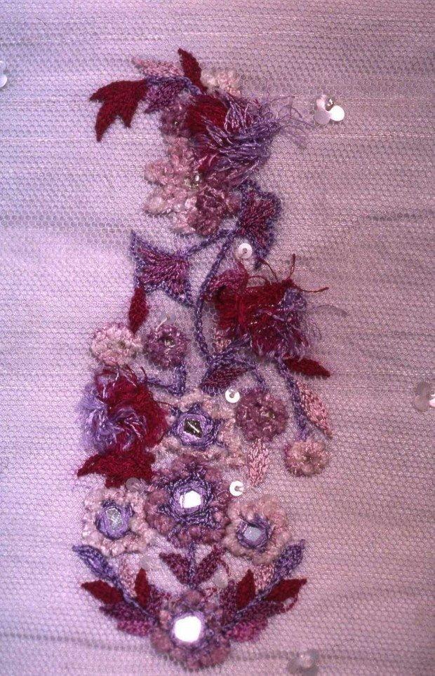 Venus of India embroidery