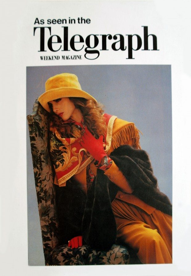 Spirit of the Forest Scarf - Telegraph Magazine