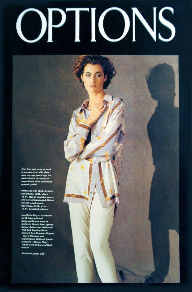 Neo-Classic Print Silk Shirt - Options magazine