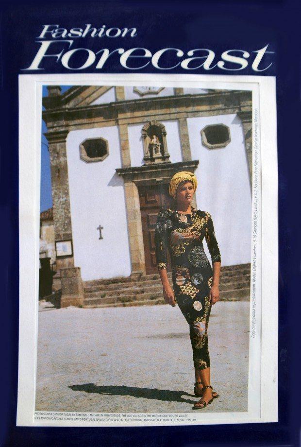 Klimt Print Dress - Fashion Forecast - SS'87