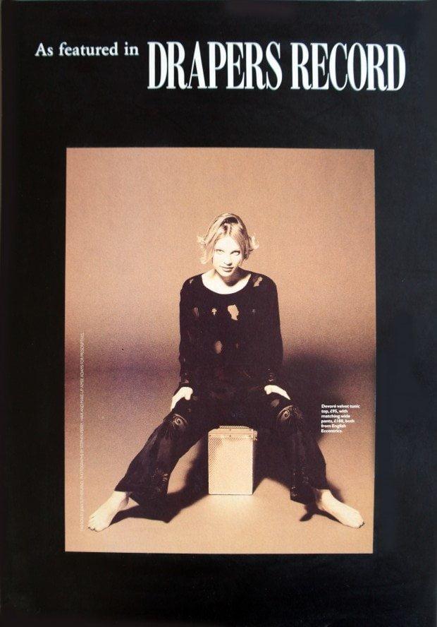 Cameo Devore - Drapers Record - AW 1993